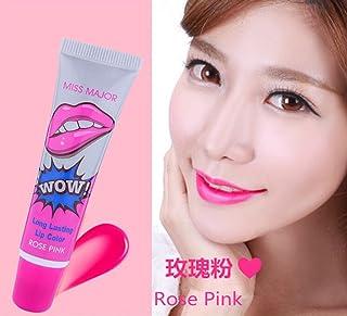 Remeehi 5 Colors Easy Use Magic Color Tatto Peel Off Long Lasting Waterproof Makeup Lip Gloss Lip Tint 4# Rose Pink