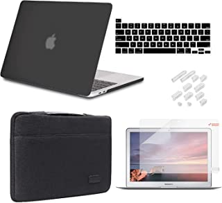 iCasso MacBook Pro 13 Inch Case 2020 Release Model A2338M1 /A2251/A2289 Bundle 5 in 1, Hard Shell Case, Sleeve, Screen Pro...