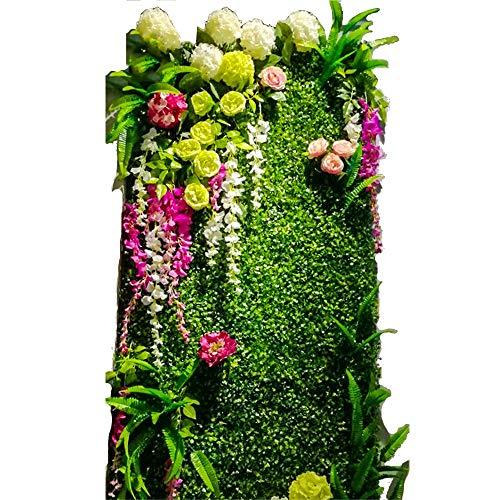 LVZAIXI Afscherming Hedge gazon hek Plastic Simulatie Planten Tapijt Balkon Patio Tuin Bruiloft Achtergrond Decor