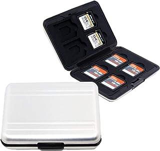 Astuccio Schede di Memoria,Biluer 2PCS Memory Card case Porta Schede di Memoria SD Case Impermeabile per Gli Appassionati ...