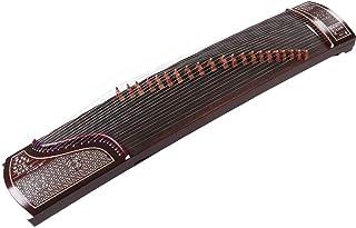 Guzheng Manual Paulownia Ventana Flor Serie Examen de Rendimiento Profesional Cítara Instrumento Musical China Instrumento desplumado