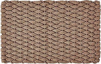 """Rockport Rope Doormats 2438701 Indoor & Outdoor Doormats, 24"""" x 38"""", Tan"""