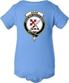 Tenacitee Babys Scottish Clan Crest Badge Adam Shirt