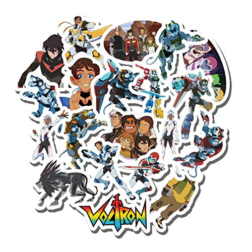 20 PCS Stickers Pack Voltron Aesthetic Vinyl Colorful Waterproof for Water Bottle Laptop Scrapbooking Luggage Guitar Skateboard