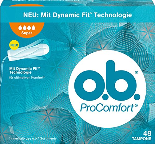 o.b. 6X Pro Comfort Super Tampons