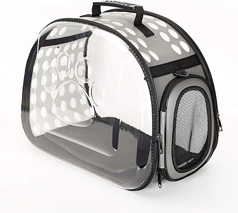 Pet bag Cat bag Dog bag Pet backpack Pet outing bag Carrying case Travel bag handbag Foldable Lightweight convenient (color   B, Size   36  20  22)