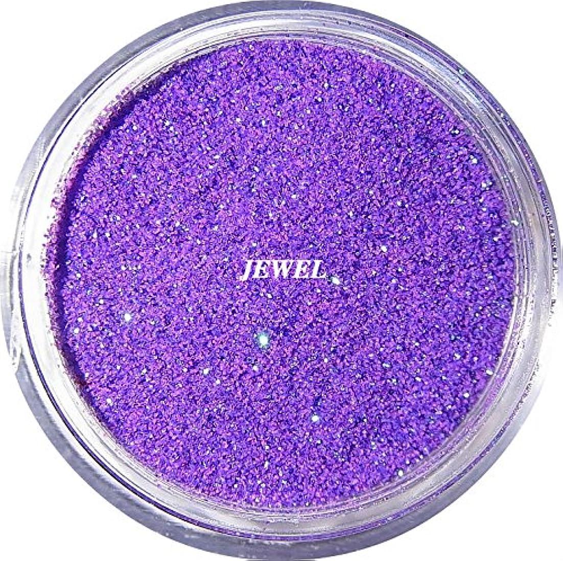理解する微生物発表【jewel】 超微粒子ラメパウダーたっぷり2g入り 12色から選択可能 レジン&ネイル用 (パープル)