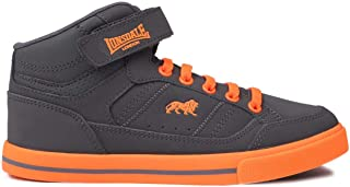 Official Lonsdale Canons Boys Hi Top Trainers Shoes Footwear