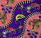 Ratti Made in Italy Premium Wax Fabric with African Prints,