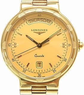 (ロンジン)LONGINES コンクエスト デイデイト クオーツ 腕時計 ステンレススチール メンズ 0012 中古