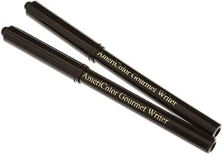 Americolor Black Food Writer 2 Marker Set