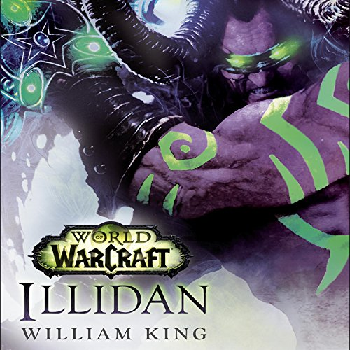 Illidan: World of Warcraft cover art