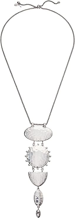Lucky Brand - Medallion Drop Necklace
