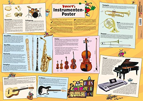 Voggy's Instrumenten-Poster: Alle wichtigen Instrumente im Überblick - für Kinder