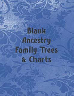 Blank Ancestry Family Trees & Charts: Genealogy Charts & Forms