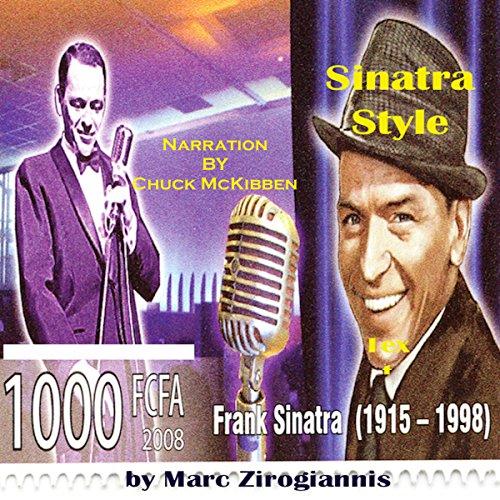 Sinatra Style audiobook cover art