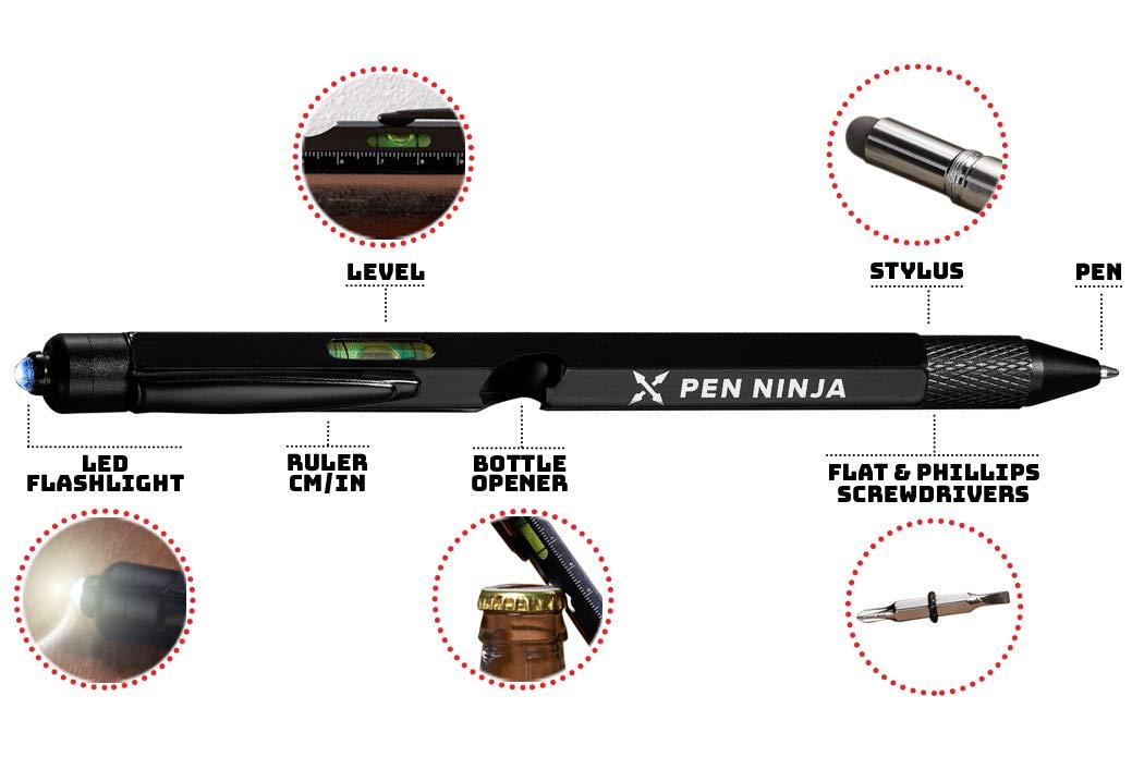 Pen Ninja Multi Tool Built Screwdrivers
