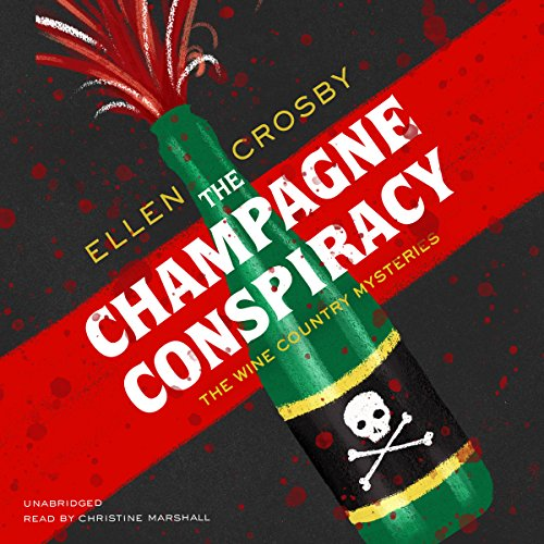The Champagne Conspiracy audiobook cover art