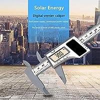 WXQ-XQ 太陽ノギス150ミリメートル0.1ミリメートル6インチ液晶デジタル電子カーボンファイバーノギスゲージマイクロメータ測定ツール
