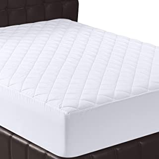 Utopia Bedding Quilted Fitted Mattress Pad (King) – Mattress Cover Stretches up to..