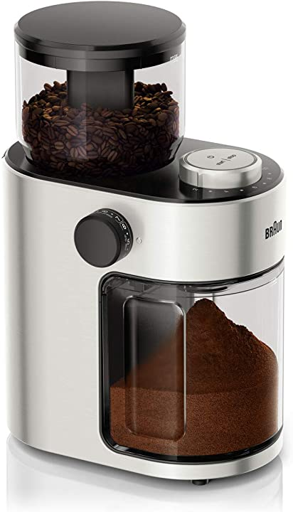 macinacaffè braun kg7070 15 livelli di macinatura 110w capacità 220gr b07ghhx6tq