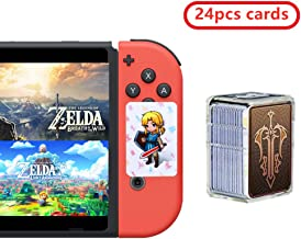 24 pcs The Legend of Zelda NFC Cards, Link's Awakening - Breath of The Wild Game Items Cards. Switch/Lite Wii U