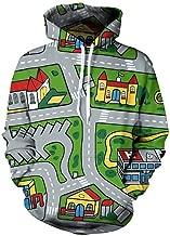 toy car map hoodie