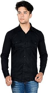 Mangal Casual Black Shirt