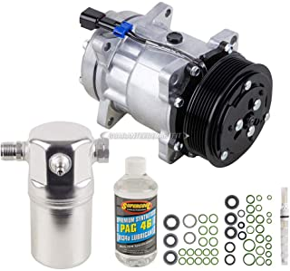 AC Compressor w/A/C Repair Kit For Chevy Kodiak & GMC TopKick Diesel 1997 1998 1999 2000 2001 2002 - BuyAutoParts 60-81224RK New