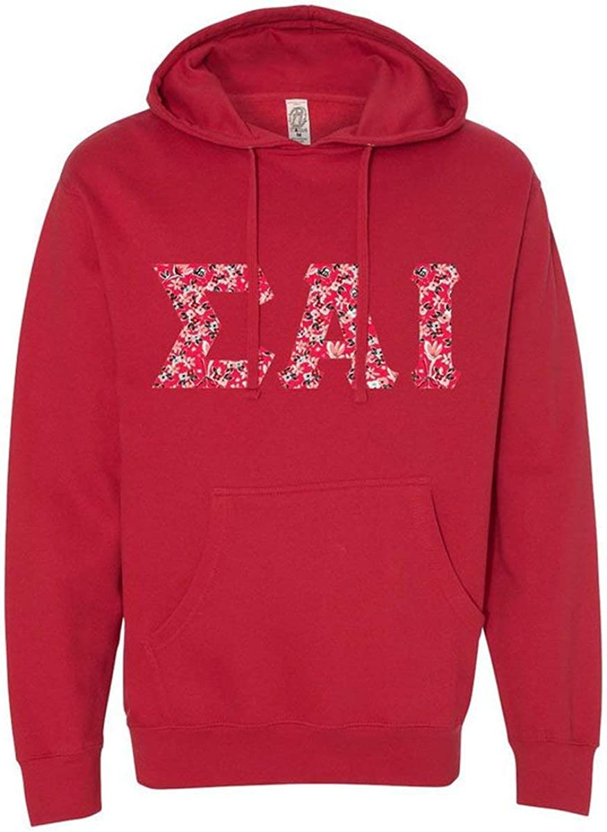 Sigma Alpha Iota 商品 Lettered Independent Hooded ショップ Trading Co. Pullove