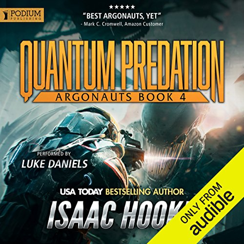 Quantum Predation audiobook cover art