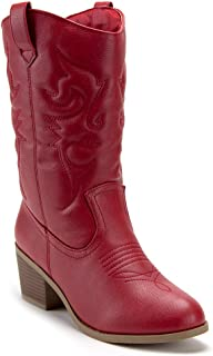 Women's TEX-25 Tall Stitched Western Cowboy Cowgirl Dress Boots