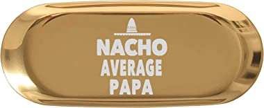 "Grandpa 7"" Ring Holder Dish Jewelry Tray - Nacho Average Papa Grandpa Mexican Ha Kitchen Home Decor Key Tray Mugs for Men"