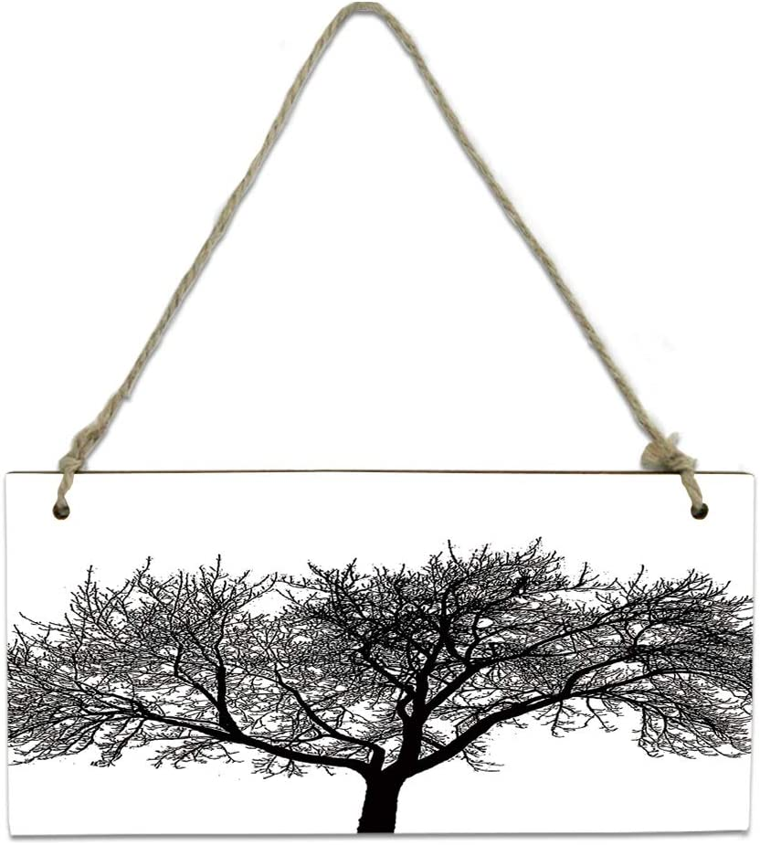 Wood Plaque Wall Hanging service Sign for Printed Kitchen Luxury Tree Bathroom