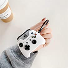 Best Game Controller Protective Silicone Cover Compatible with Airpods Pro/ Airpods 3 (2019), Cute Funny 3D Xbox One S / Xbox One x Design Protective Silicone Cover for AirPods Pro (White Controller) Review