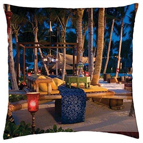 Funda de almohada para cubrir la noche en la playa (16 unidades)