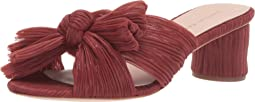 Emilia Pleated Knot Mule