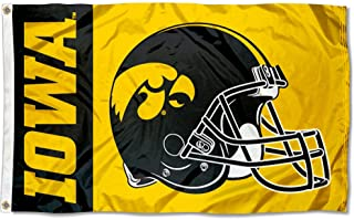 College Flags and Banners Co. Iowa Hawkeyes Football Helmet Flag