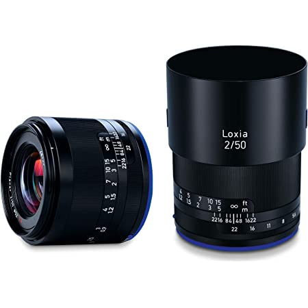 Zeiss Loxia 50mm f/2 Planar T Lens for Sony E Mount, Black