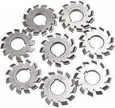 WYBW 8 Stks Diameter 22 Mm Module 2 20 Graden # 1-8 M2 Hss Involute Gear Frees Cirkelzaagbladen Gereedschap