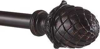 bronze acorn finials