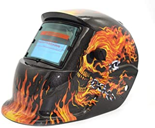 Helmetsolar de Soldadura Powered Auto Oscurecimiento TIG Mig MMA Máscara de Soldadura Eléctrica Casco Soldador Cap