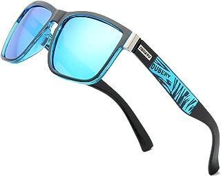 Vintage Polarized Sunglasses for Men Women Retro Square Sun Glasses D518