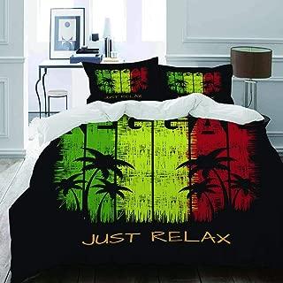 Doux Et Confortable Respirant Literie Unisexe Mode Luxueux Accueil Literie 140X200Cm 3 Pi/èces FAIEK Literie 3 Pi/èces 1 Housse De Couette Et 2 Taies doreiller Jurassic Park