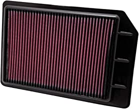 K&N 33-2442 High Performance Replacement Air Filter for 2010-2011 Buick Lacrosse 2.4/3.6L