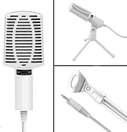 ZYG.GG Microfono per PC, Plug & Play Home Studio Cardioide USB Condenser Microfono per Skype, Registrazioni per Youtube, Google Ricerca vocale, Giochi (Windows/Mac) - Trova i prezzi più bassi