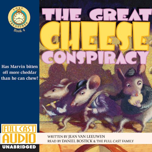 The Great Cheese Conspiracy audiobook cover art