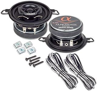 $34 » Alphasonik NS35 Neuron Series 3.5 Inch 180 Watts Per Pair / 90 Watts Each 2-Way Car Audio Speaker Full Range Coaxial Speak...