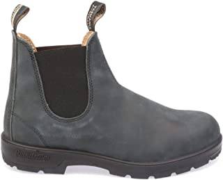 Luxury Fashion | Blundstone Men BCCAL02940587888 Grey Leather Ankle Boots | Autumn-winter 19