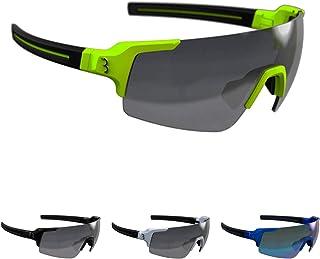 BBB Fietsen Unisex's sport bril FullView, mat neon geel, One Size